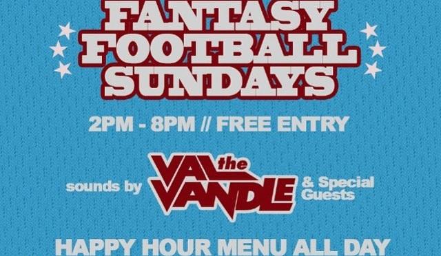 Karma Lounge presents Fantasy Football Sundays [EVERY SUNDAY]