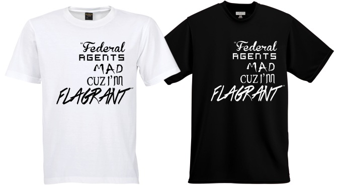 Federal Agents Tee Shirt Release – [7/20/15]