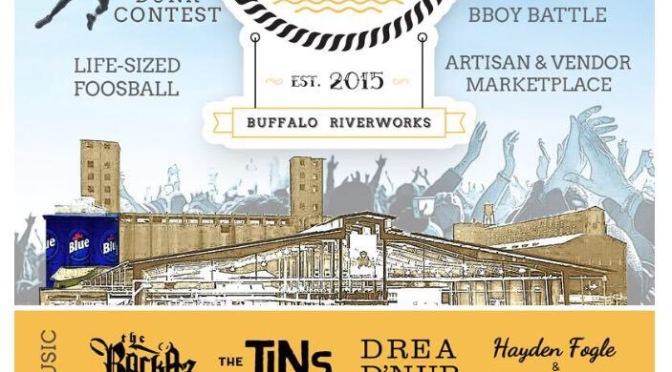 Around BuffaLowe – Vibe Fest featuring Drea D'Nur, Truey , Toney Rhodes and more! – Buffalo [7.18.15]