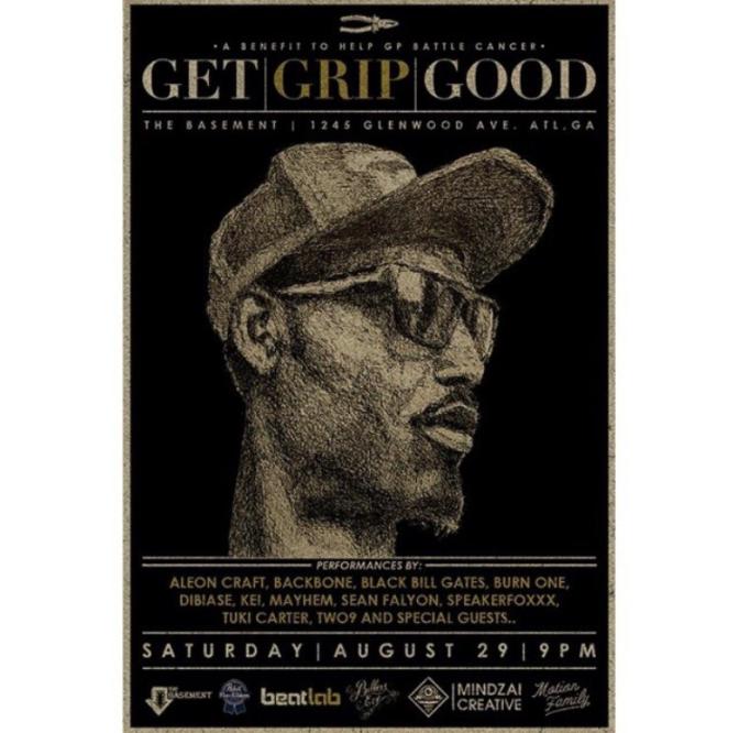 Get Grip Good – A Benefit for Grip Plyaz – Atlanta [8.29.15]