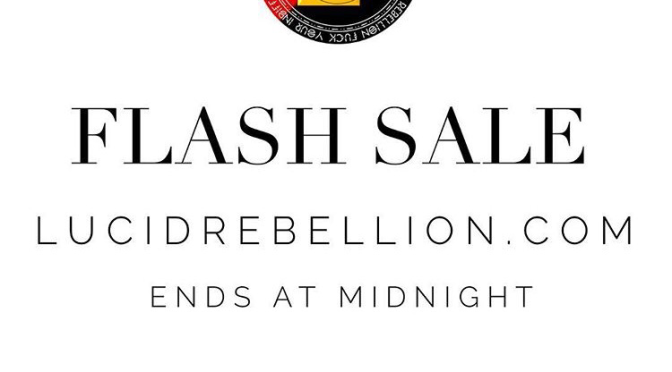 The FC: Happy Sladderday from @lucidrebellion – Today Only! 9/26/15 [FLASH SALE]