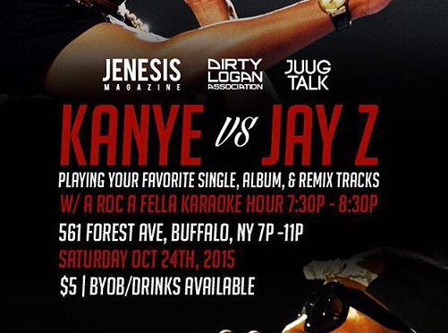 Dirty Logan x JENESIS Magazine Presents Jay-Z Vs. Kanye Party [10.24.15]