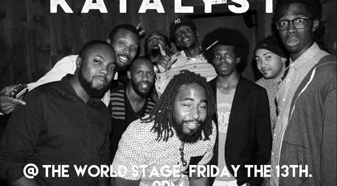 Around LA: KATALYST Performance at World Stage Art Gallery! [11.13.15]