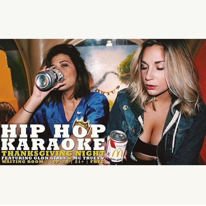 Around BuffaLowe: Truey V x Gldn Girls Presents Hip-Hop Karaoke @ The Waiting Room! [11.26.15]