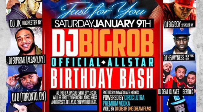Around BuffaLowe: @bigrobthedj's Official 30th Birthday Bash! – 4Play Nite Club [1.9.16]