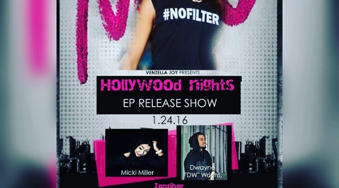 #AroundLA: @joythedrummer – Hollywood Nights EP Release Show – Zanzibar! [1.24.16]