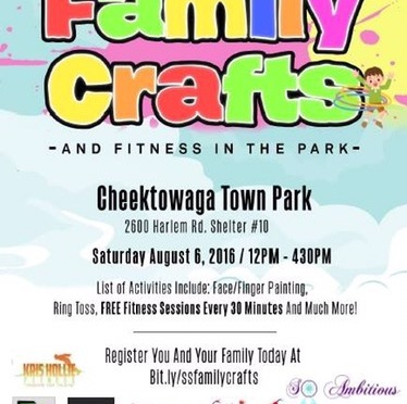#AroundBuffaLowe: Summer Scholars, Inc presents Family Crafts & Fitness in the Park! [8.6.16]