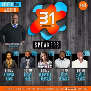 #AroundAtlanta: Join @gccexperience for #M31 Millennials 31 Conference! [Aug 3rd- Aug 31st]