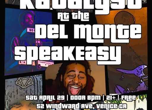 #AroundLA: @KatalystCollect at the Del Monte Speakeasy [APR 29TH]