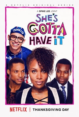 "Cover Art from Spike Lee's ""She's Gotta Have It"" Netflix Series"