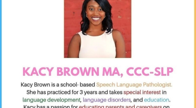 Klassic Kacy presents Teach Speech: A Parent Workshop – Atlanta [6.22.19]