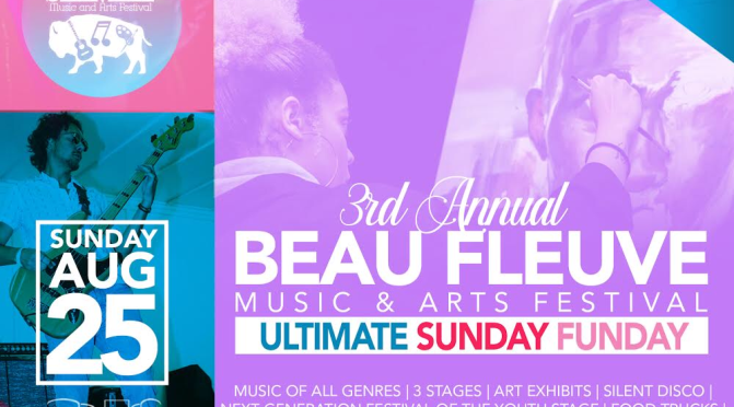 Around BuffaLowe: Beau Fleuve Music & Arts Festival [8.25.19]