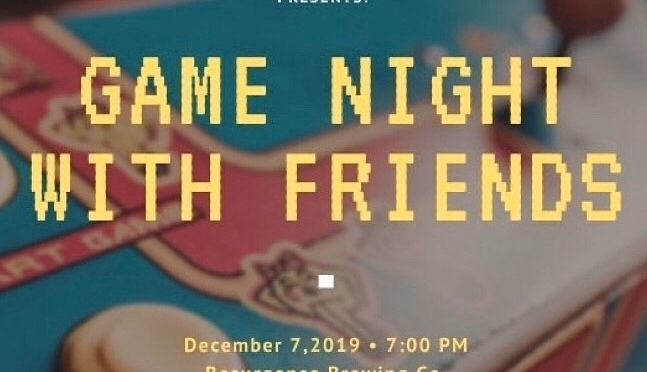 Around BuffaLowe: Dirty Logan x Juug Talk hosts Game Night With Friends Toy Drive 12.7.19 [Event]